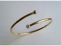Bangle made from customer's old gold